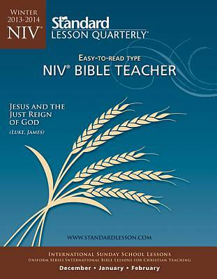 Standard Lesson Quarterly NIV Adult Teacher Guide Winter 2013-2014