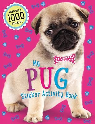 Pug Sticker Activity Book