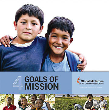 Four Goals of Mission Downloadable Brochure English