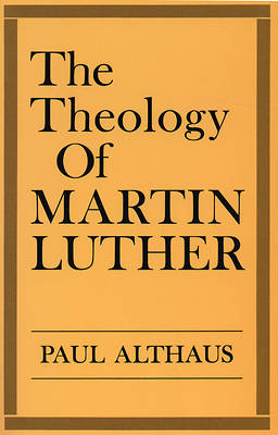 Theology of Martin Luther