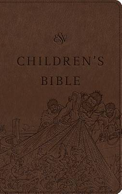 Picture of ESV Children's Bible (Trutone, Brown)