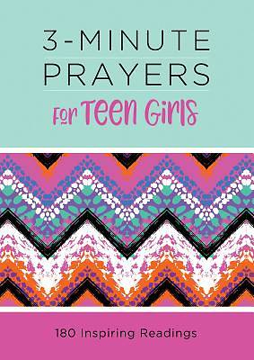 Picture of 3-Minute Prayers for Teen Girls