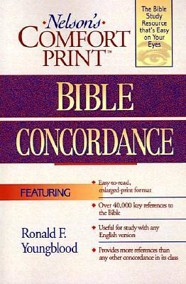 Nelsons Comfort Print Bible Concordance