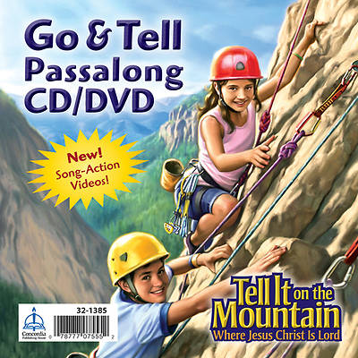 Concordia Vacation Bible School 2013 Tell it On the Mountain Go & Tell Tunes Passsalong CD/DVD