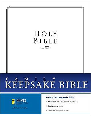Picture of Family Keepsake Bible New International Version