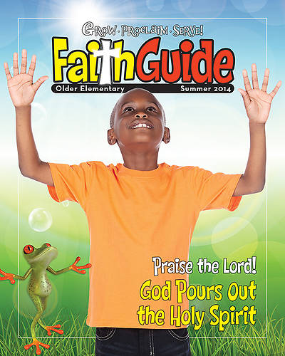 Picture of Grow, Proclaim, Serve! Faith Guide for Older Elementary Summer 2014