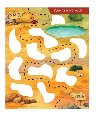 Group VBS 2014 Wilderness Escape A-Maze-Ing Map 5pk
