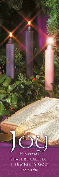 Picture of Joy Bible and Wreath Advent 3' x 5' Banner