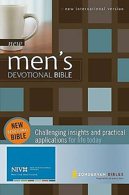 New Mens Devotional Bible New International Version Hardcover