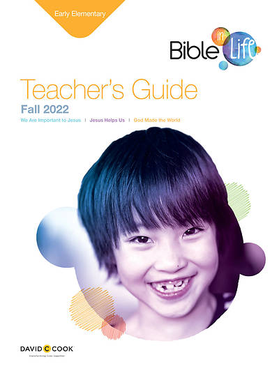 Bible-in-Life Early Elementary Teachers Guide Fall