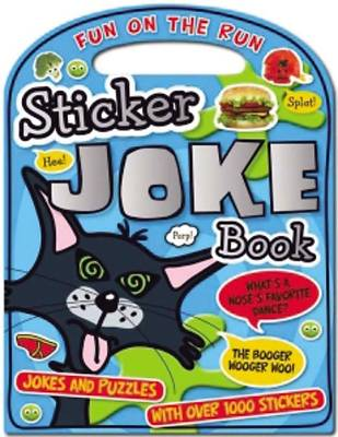Fun on the Run Sticker Joke Book