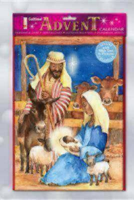 Manger Scene Advent Calendar