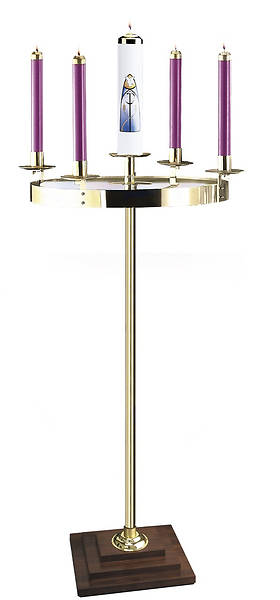 Picture of Artistic RW 1185W Brass Advent Wreath