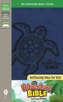 NIRV Adventure Bible Italian Duo-Tone Blueberry