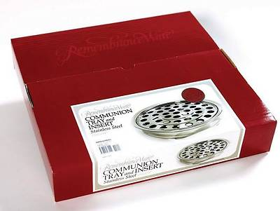 Picture of RemembranceWare Silver Commuion Tray and Disc