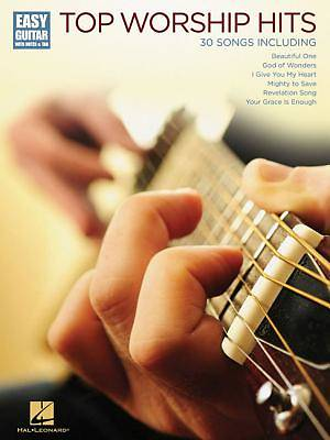 Top Worship Hits; Easy Guitar with Notes & Tab