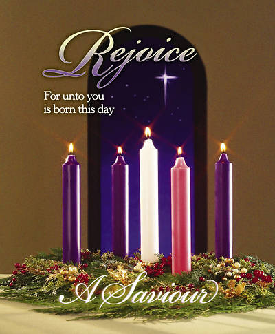 Advent/Christ Candle Bulletin Large (Package of 100)