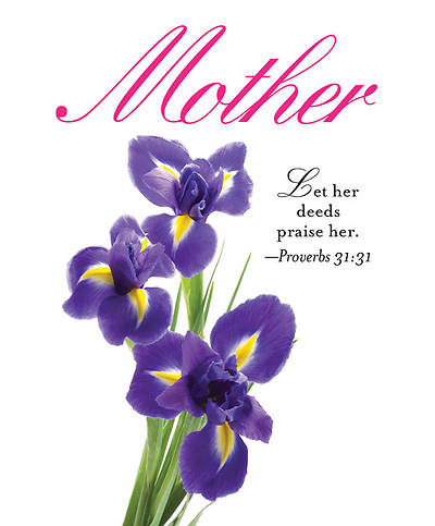 Iris Mothers Day Bulletin 2013, Large (Package of 50)