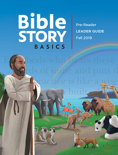 Picture of Bible Story Basics Pre-Reader Leader Guide Fall Year 1