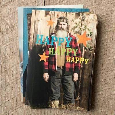 Duck Dynasty® - Birthday Boxed Cards - Box of 12