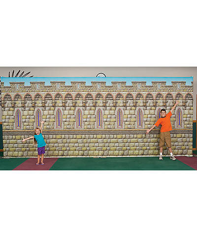 Group VBS 2013 Kingdom Rock Castle Wall Fabric Wall Hanging