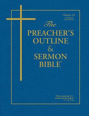 Picture of The Preacher's Outline & Sermon Bible: Ecclesiastes & Song of Solomon