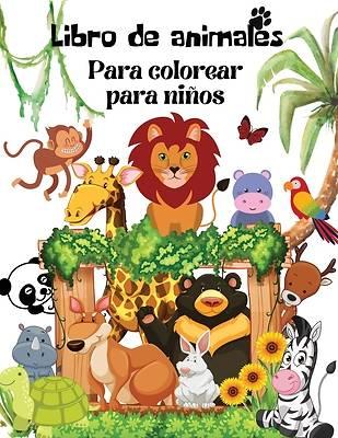 Picture of Libro para colorear de animals
