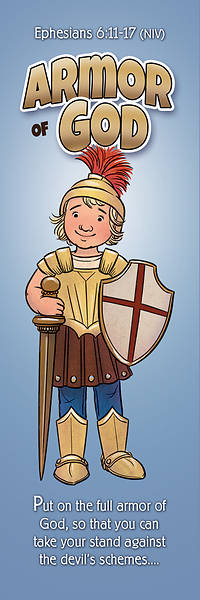 Armor of God Kids General Bookmark