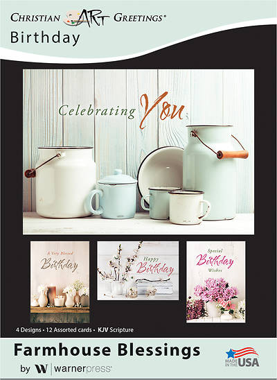 Farmhouse Blessings Birthday Boxed Cards