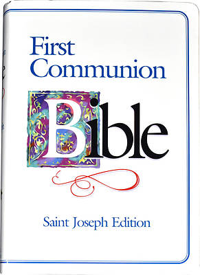 Bible-Nab St. Joseph First Communion