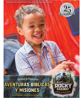 Picture of Vacation Bible School (VBS) 2020 Little Kids Depot Bible Adventures & Missions Leader Manual (Spanish for Bilingual Edition)