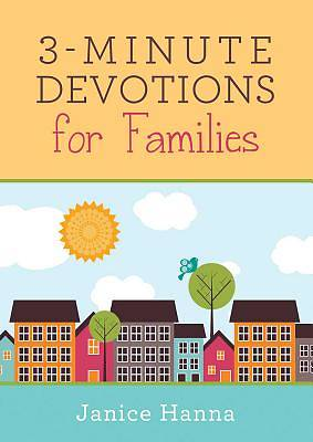 Picture of 3-Minute Devotions for Families