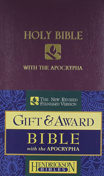 Gift & Award Bible-NRSV-Apocrypha Royal Purple (Case of 24)