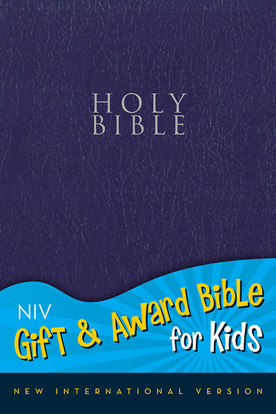 Gift and Award Bible for Kids NIV (Navy Imitation Leather)