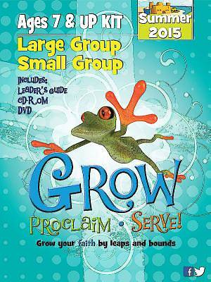 Picture of Grow, Proclaim, Serve! Large Group/Small Group Ages 7 & Up Kit Summer 2015
