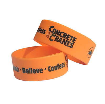Picture of Vacation Bible School (VBS) 2020 Concrete and Cranes Gospel Wristbands Pkg 10