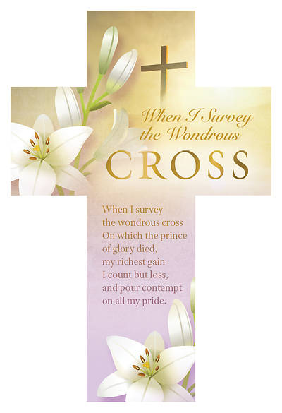 The Wondrous Cross Cross Bookmark