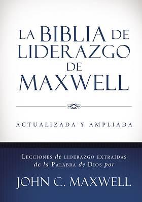 Picture of La Biblia de Liderazgo de Maxwell Rvr60- Tamano Manual