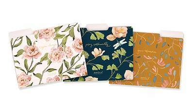 Picture of Gracelaced File Folders, 9 Count, 3 Each of 3 Designs, Rejoice, Pray, Give