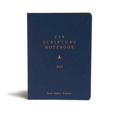Picture of CSB Scripture Notebook, Acts
