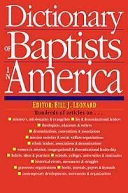 Dictionary Of Baptists In America