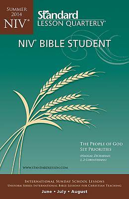 Standard Lesson Quarterly Adult NIV Bible Student Book Summer 2014