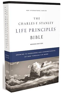 Picture of Niv, Charles F. Stanley Life Principles Bible, 2nd Edition, Hardcover, Comfort Print