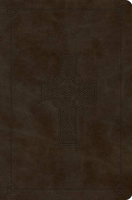 ESV Value Compact Bible (Trutone, Olive, Celtic Cross Design)