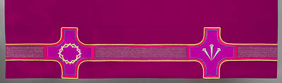 Revelation Series Altar Frontal Purple Lent
