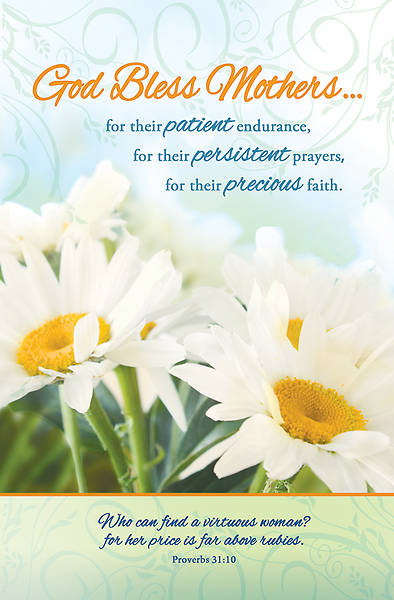 Mothers Day Bulletin Proverbs 31:10 Regular (Package of 100)