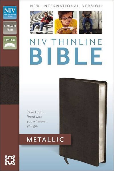 New International Version Thinline Metallic Collection Bible