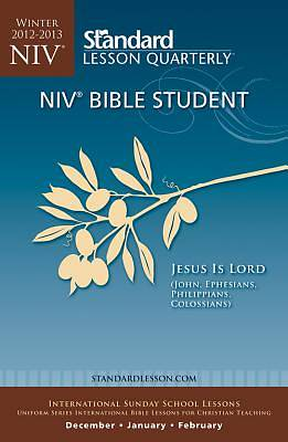 Standard Lesson Quarterly NIV Bible Student Winter 2012-13