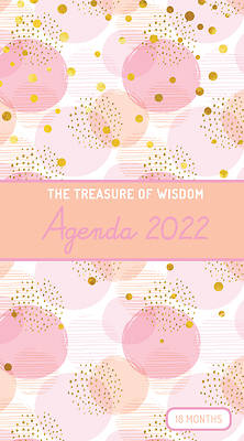 Picture of The Treasure of Wisdom - 2022 Pocket Planner - Bubbles and Gold - Peach