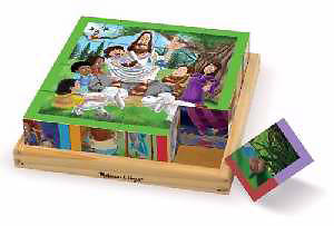 New Testament Cube Puzzle - Melissa and Doug